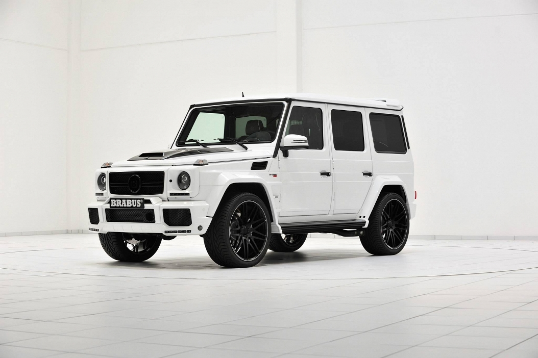 Monster Rally Car Wallpaper Mercedes Benz G63 Amg Given A Storm Trooper Look By Brabus