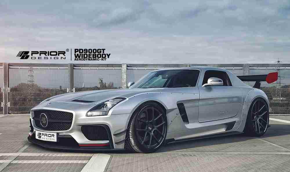 Saleem Name 3d Wallpaper Prior Design Gives The Mercedes Sls Amg Gt An Aero Makeover