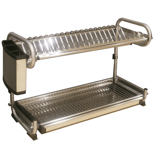 Buy Dish Rack Wall Mounted With Spoon Holder Online In