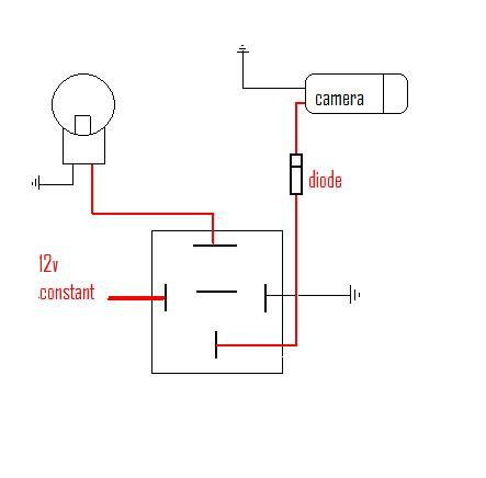 basic electrical wiring diagrams for camera