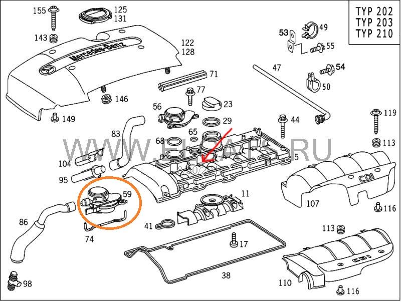 Oil leak on CLK 270 CDI How to fix? - Mercedes-Benz Forum