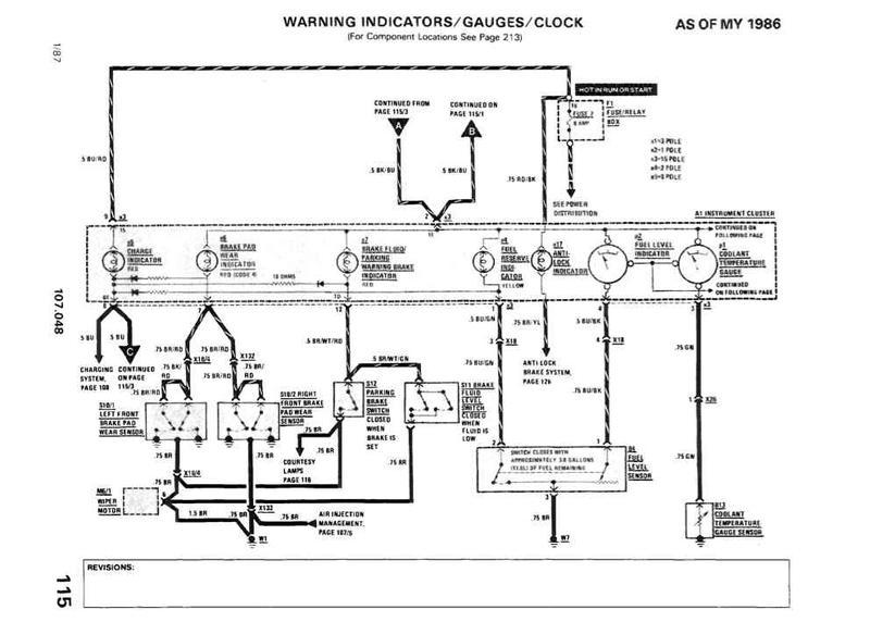 87 Mercedes Fuse Box Wiring Diagram 2019