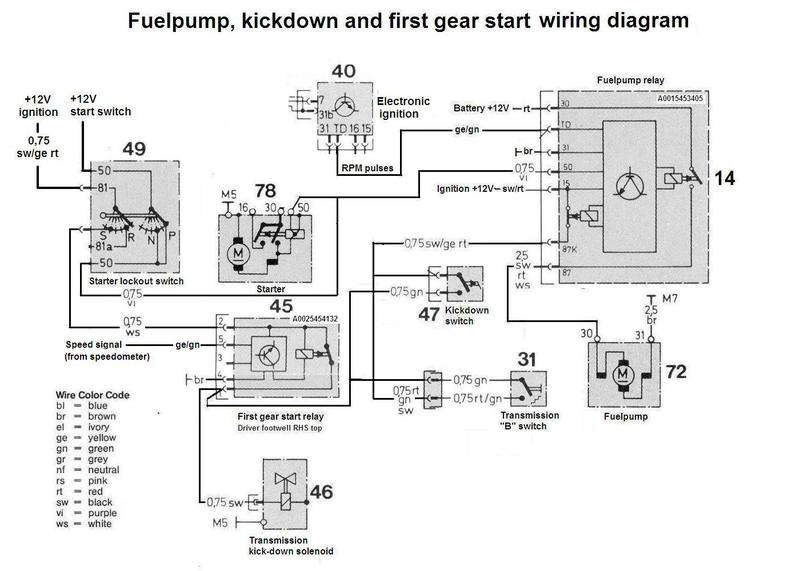 wiring diagram for 1986 mercedes benz