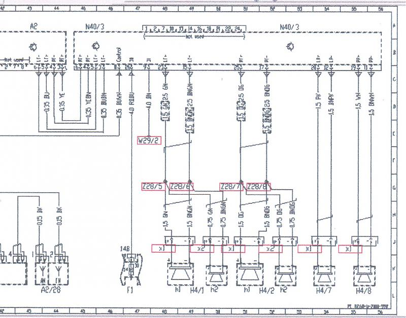 wire diagram for head unit