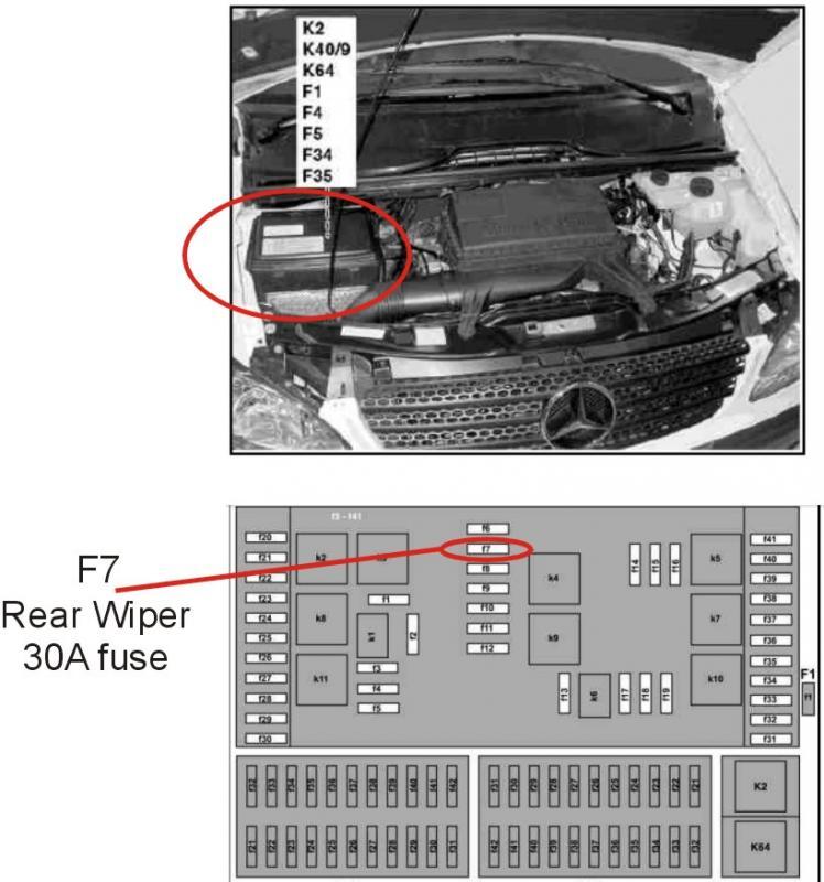 Mercedes Benz Vito 115 Cdi Fuse Box Electrical Circuit Electrical