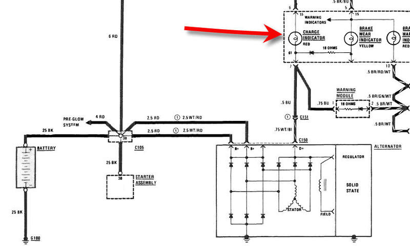 wired in as shown here s a quick diagram of a ford solenoid glow setup