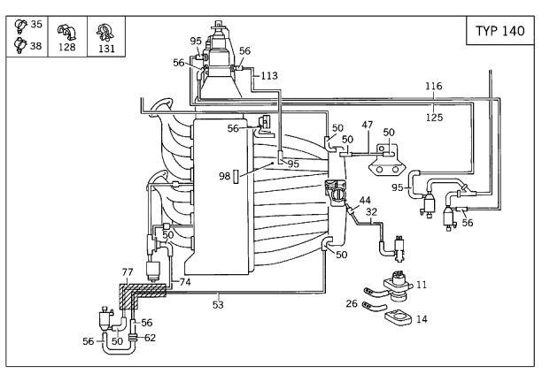 Mercedes 450sl Vacuum Diagram On 78 Corvette Engine Wiring Diagram