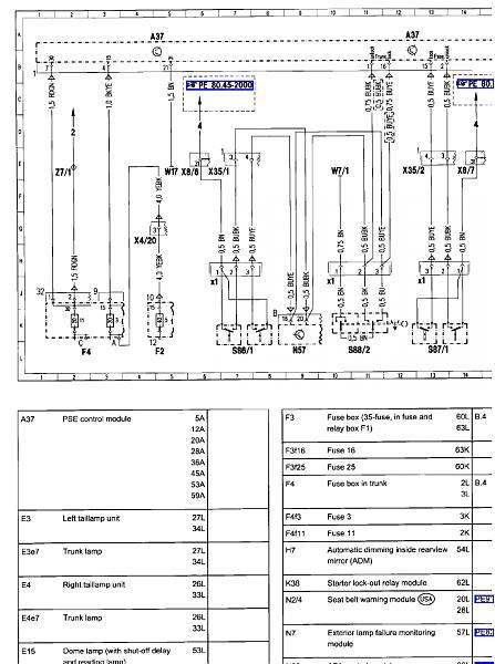 mercedes w124 wiring diagram