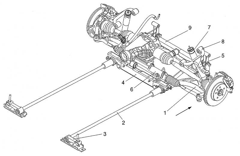 2002 dodge suspension diagram
