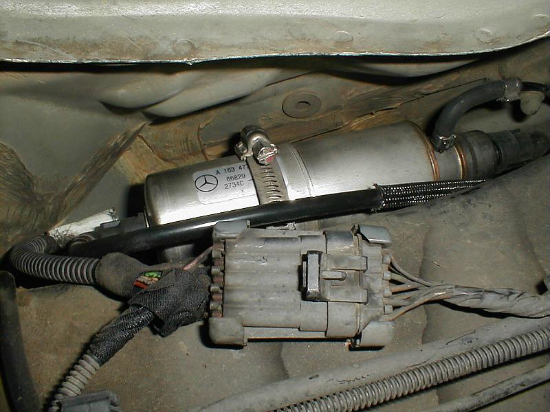 Looking for DIY fuel filter change on 99 ml320 - Page 2 - Mercedes