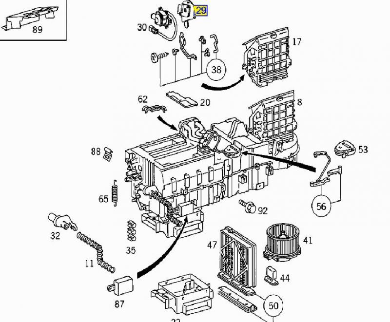 mercedes benz parts schematics
