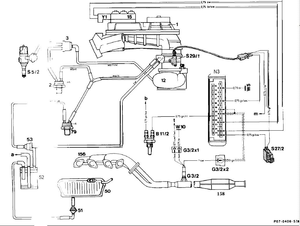 wiring diagram of a mercedes benz w123 280e