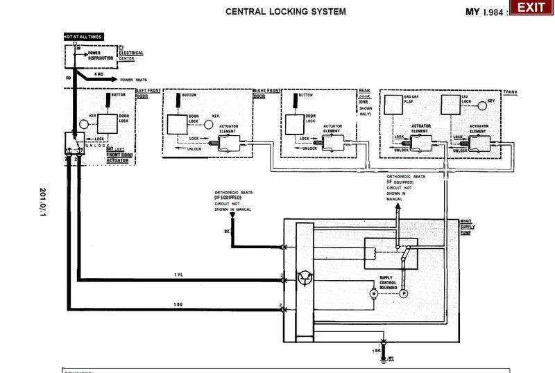 Central Locking System Wiring Diagram - Wwwcaseistore \u2022