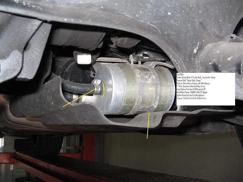 ford expedition fuel filter location