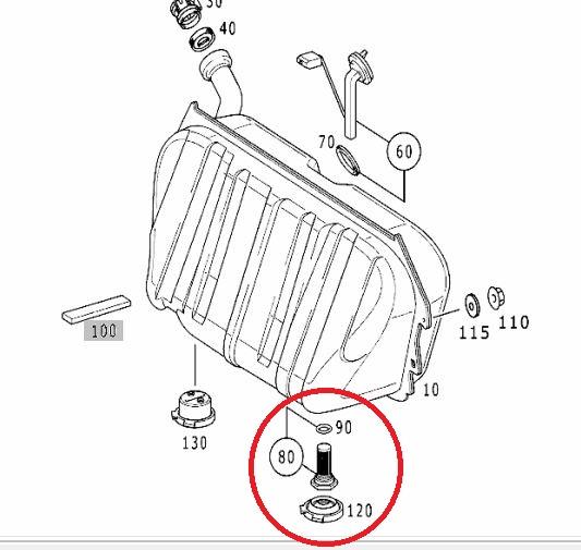 e350 fuel filter change
