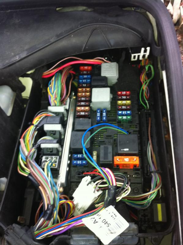 For Central Air Fuse Box Airmatic Relay Help Please Mercedes Benz Forum