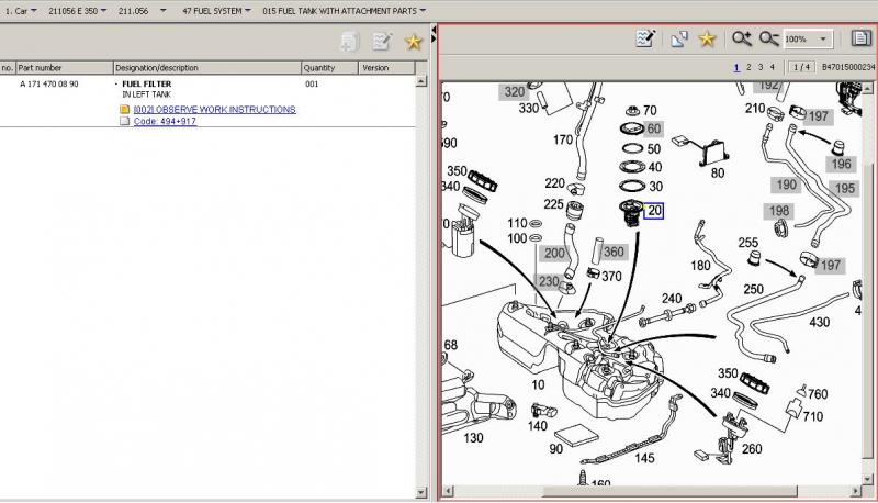 E350 Fuel Filter Wiring Diagrams