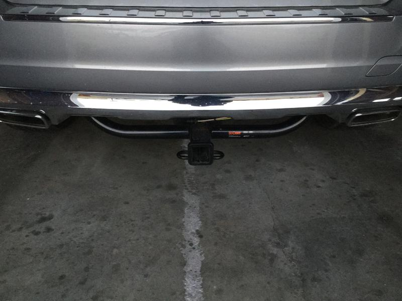 FS GLK 250 Curt Trailer Hitch and Wiring Kit - Mercedes-Benz Forum
