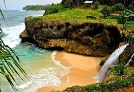 Pantai Banyu Anjlok Lenggoksono Malang