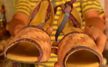 Inspiratif, Menyulap Pelepah Pisang Menjadi Sepatu Tembus Pasar Dunia