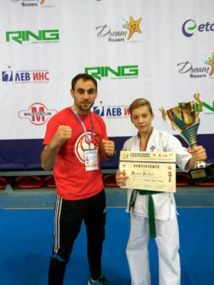 Молодой бердичевский боец Юрчук Роман победил в чемпионате Европы