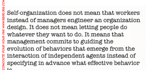 quote-self-organization