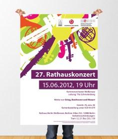 """""""27. Rathauskonzert"""" Kammerorchester Weißensee"""