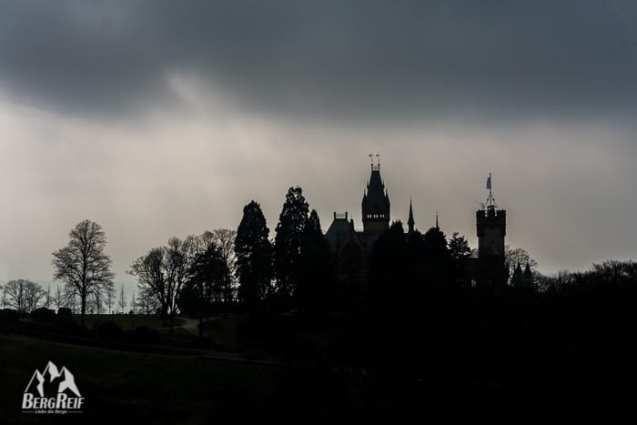 Wanderung Siebengebirge Schloss Drachenburg