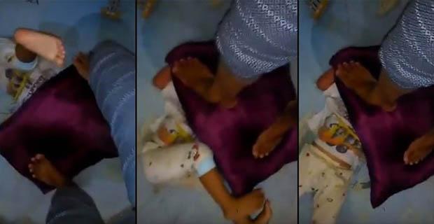 Ibu Rumah Tangga Yang Siksa Anaknya Menggunakan Bantal Berhasil Ditangkap polisi!