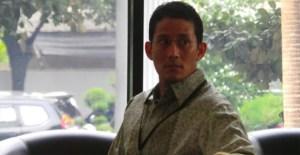 KPK Periksa Sandiago Uno Atas Kasus Pencucian Uang Nazarudin