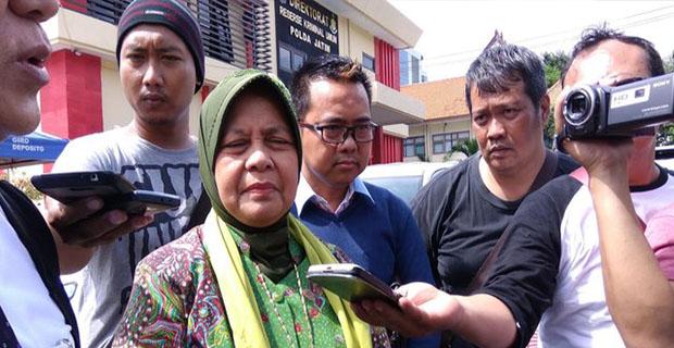 Marwah Daud Mendatangi Polda Jatim Setelah Padepokan Dimas Kanjeng Ditutup