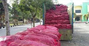 Pihak Bea Cukai Kembali Mengagalkan Penyelundupan 50 Ton Bawang Merah