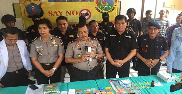 Bandar Narkoba Jaringan Internasional di Tembak Mati di Sumatera Utara