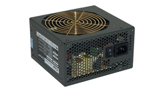 Enlight Black Silver 500W Power Supply PSU Enlight 500W