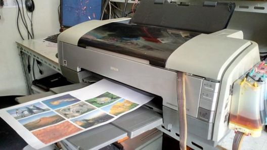 1390 bekas Printer Photo Epson 1390 A3 bekas