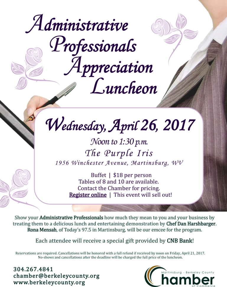 Administrative Professionals Day Luncheon