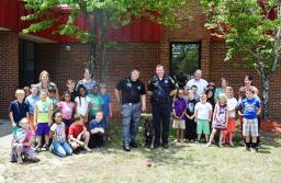 Berkeley County Students Help Name BCSO's Two New K9s