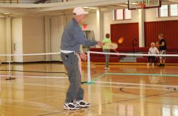 Pickleball was introduced to the Goose Creek Community Center earlier this year.