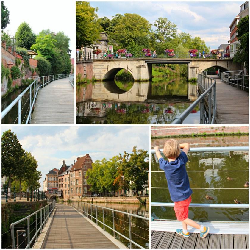 Diesen Weg sollte man nicht auslassen: Der Dijlepfad im Zentrum von Mechelen