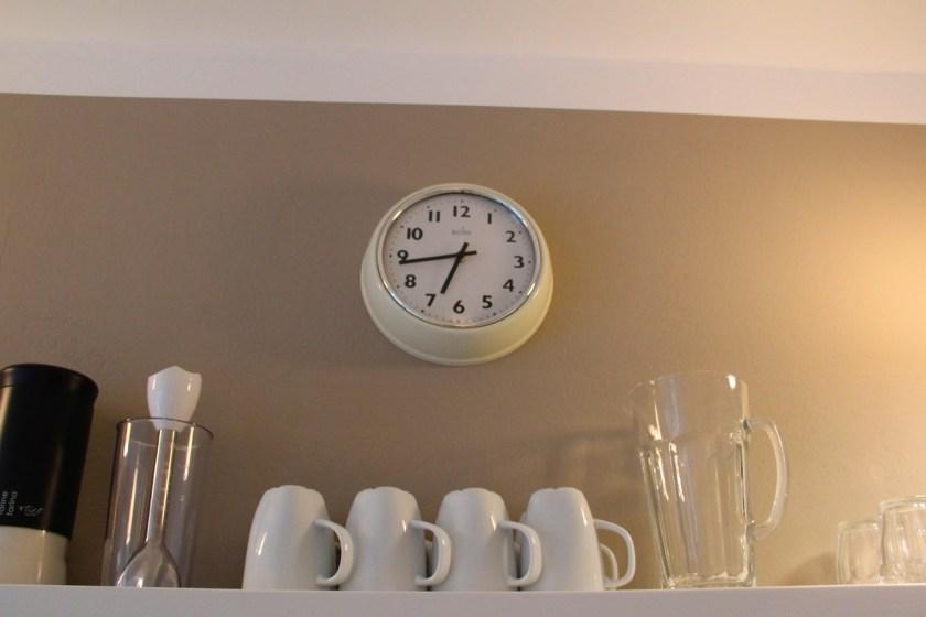 Zeit fürs Abendessen in der Küche