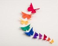 15 Best Ideas of Rainbow Butterfly Wall Art