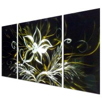15 Best Ideas of Aluminum Abstract Wall Art