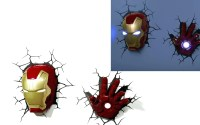 2018 Best of The Avengers 3D Wall Art Nightlight