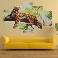 15 Best Collection of Leopard Print Wall Art