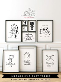 2018 Best of Black And White Bathroom Wall Art