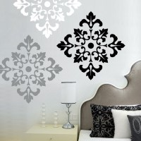Damask Wall Decals - ideasplataforma.com