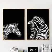 2018 Best of Zebra Wall Art Canvas