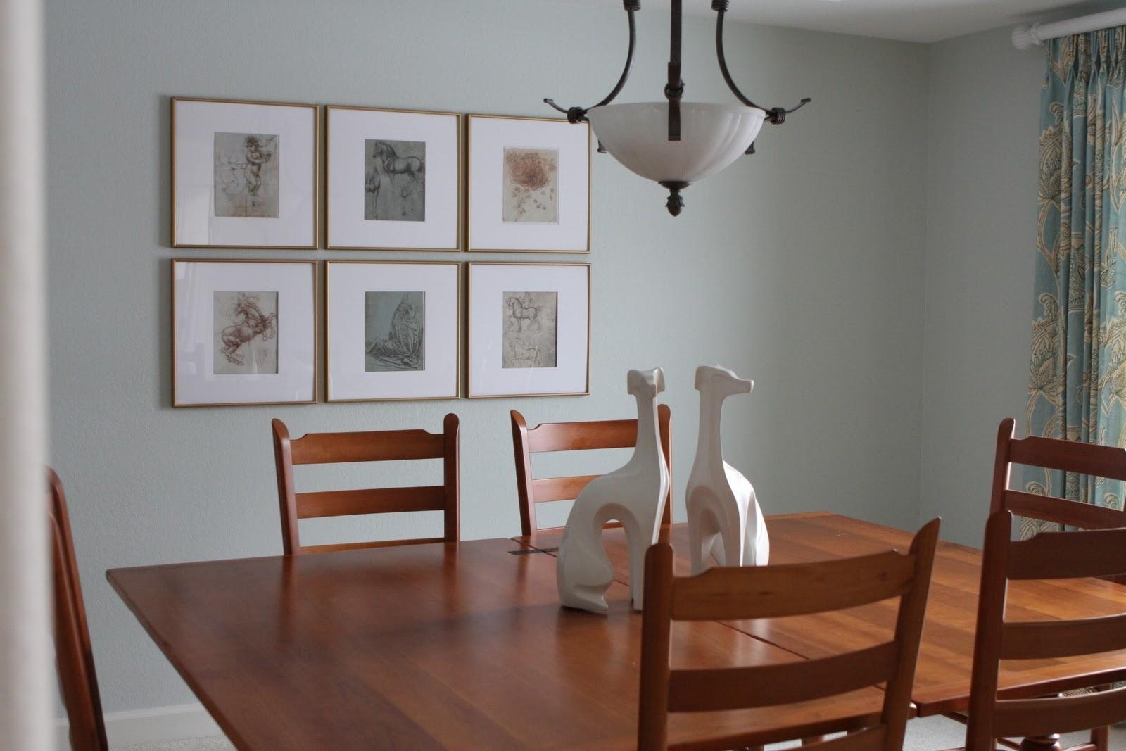 dining room canvas wall art