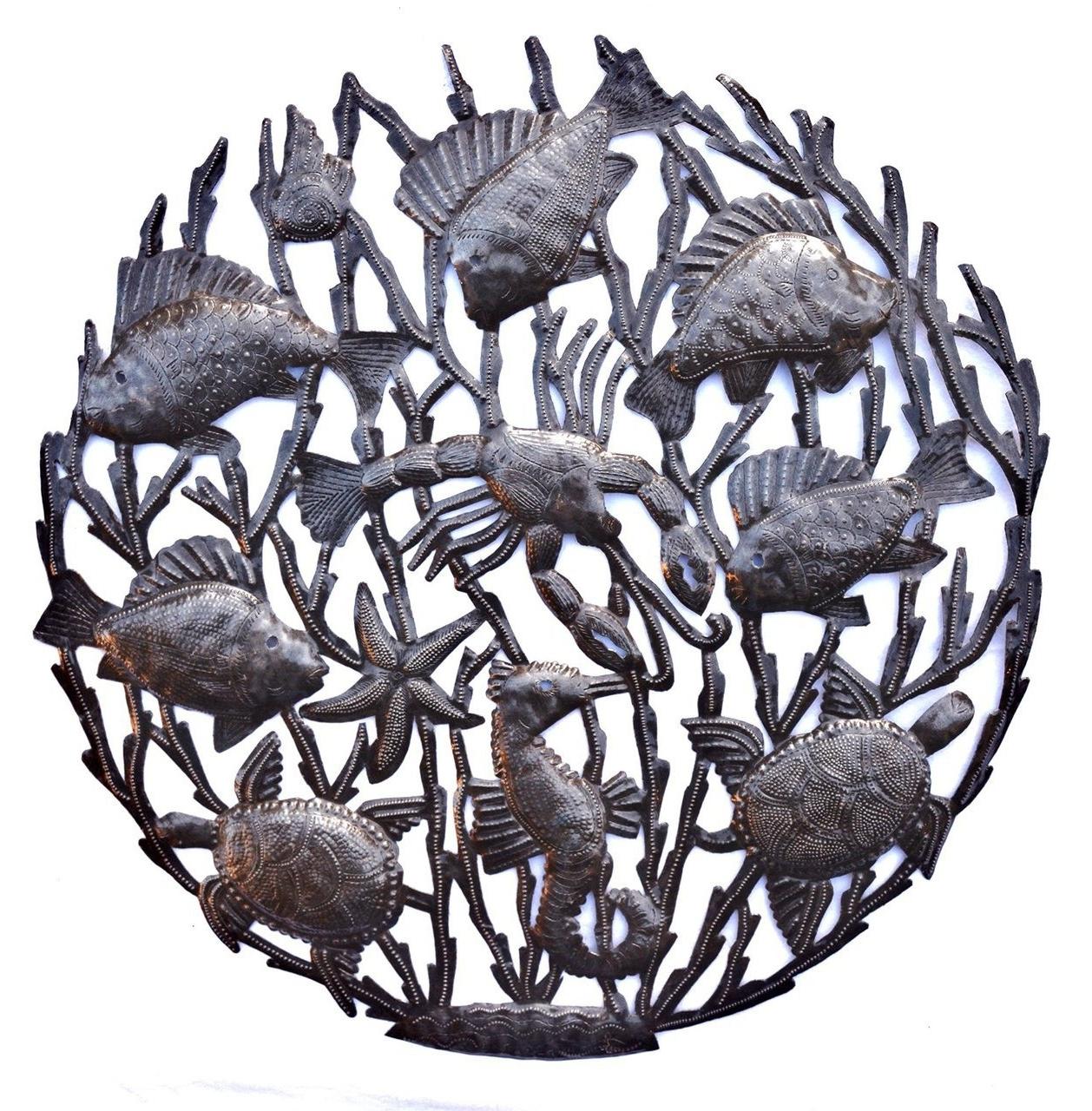 15 Best Ideas of Hammered Metal Wall Art