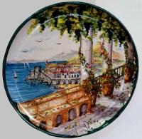 Italian Decorative Plates & Scattered Metal Italian Plates ...